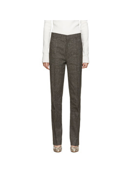 Brown Troia Trousers by TotÊme