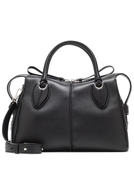 D Styling Medium Leather Shoulder Bag by Tod's