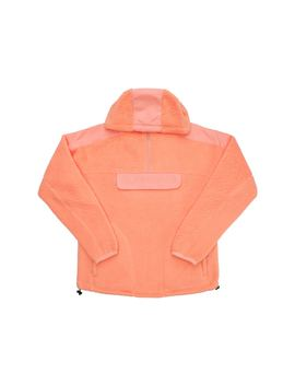 Supreme Polartec Hooded Half Zip Pullover Peach by Stock X