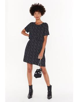 Gonna Go Star Relaxed Mini Dress by Nasty Gal