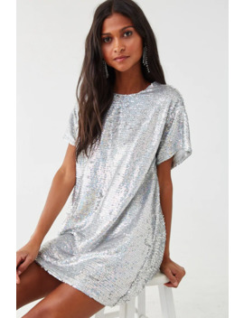 Sequin Shift Dress by Forever 21