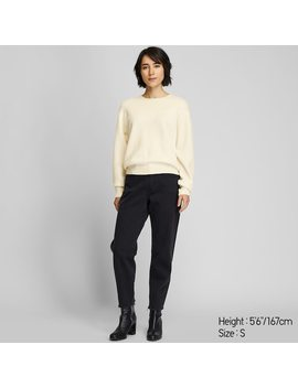 Women Premium Lambswool Crew Neck Jumper (41) by Uniqlo