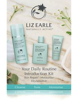 Liz Earle Your Daily Routine Introduction Kit With Skin Repair™ Moisturiser – Dry/Sensitive by Liz Earle