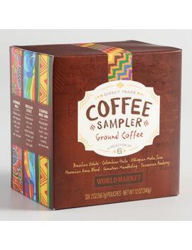 World Market® Direct Trade Coffee Sampler 6 Pack by World Market