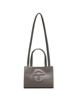 Small Embossed Shopping Bag by Telfar