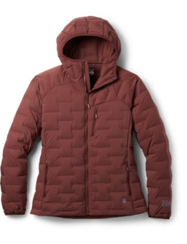 Mountain Hardwear Super/Ds Stretch Down Hooded Jacket   Women's by Mountain Hardwear