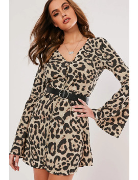 Missguided Jaguar Print Mini Dress by Forever 21