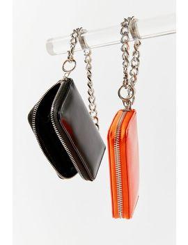 Faux Leather Chain Wallet by Urban Outfitters