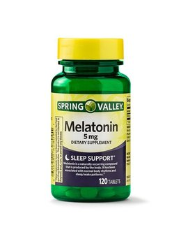 Spring Valley Melatonin Tablets, 5 Mg, 120 Ct by Spring Valley