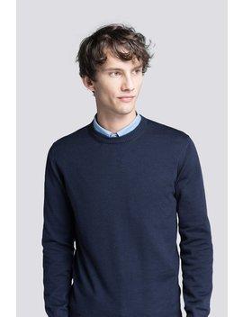 The Merino Sweater                Dark Navy by Asket