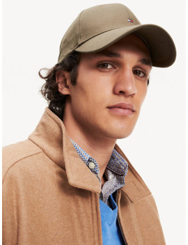Pure Cotton Baseball Cap by Tommy Hilfiger