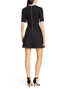 Blussum Broderie Trim A Line Dress by Ted Baker London