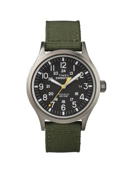 Men's Expedition Scout Green Watch, Nylon Strap by Timex