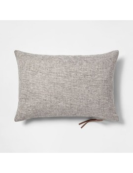 Woven With Exposed Zipper Throw Pillow   Project 62™ by Shop This Collection