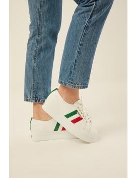 2790 Nappaleaw Flagside White/Italian Flag by Superga