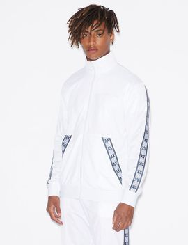 Logo Tape Track Jacket by Armani Exchange