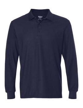 Gildan Sport Shirts Dry Blend® Double Pique Long Sleeve Sport Shirt by Gildan