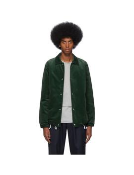 Green Corduroy Jacket by Comme Des GarÇons Shirt
