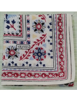 Handky Bandana Aramis Beautiful Motive Handkerchief by Designer  ×