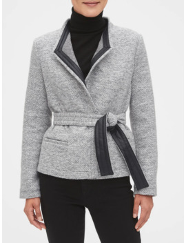 Textured Tie Jacket by Banana Republic Factory