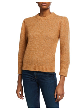 Holly Crewneck Pullover Sweater by Veronica Beard