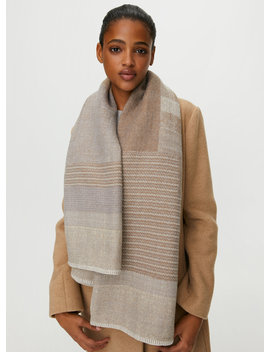 Wool Blanket Scarf by Auxiliary