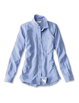 Women's Tech Chambray Work Shirt by Orvis