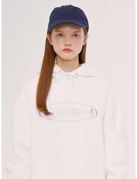 [Unisex] Circle Logo Hoodie Is Ivory by Kirsh