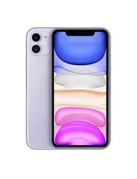 Sim Free I Phone 11 128 Gb Mobile Phone   Purple206/9850 by Argos