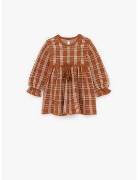 Plaid Knit Dress by Zara