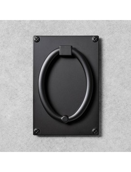 Metal Door Knocker Black   Hearth & Hand™ With Magnolia by Shop This Collection