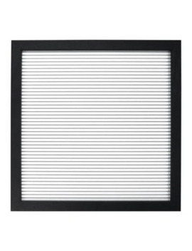 New View 12 Inch Square Letter Board In Black by Bed Bath And Beyond