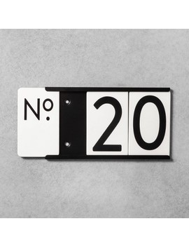 House Number Mounting Plate   Hearth & Hand™ With Magnolia by Shop This Collection