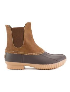 Avanti Women's Rocky Rain Boots   Gored Pull On Faux Suede Duck Boot Rainboots by Avanti