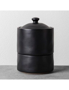 Bath Canister Black   Hearth & Hand™ With Magnolia by Hearth & Hand With Magnolia