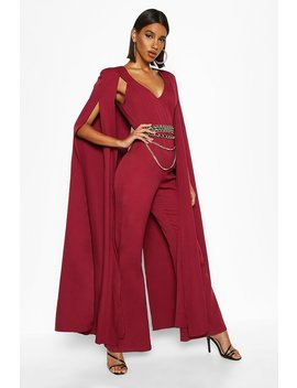 Extreme Wide Leg Jumpsuit by Boohoo