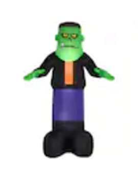 Gemmy 12 Ft X Lighted Monster Halloween Inflatable by Lowe's