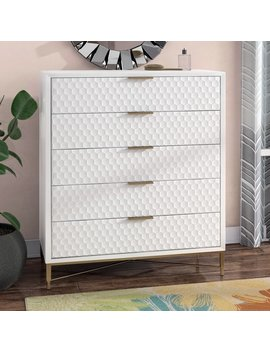 Francesca 5 Drawer Chest by Modern Rustic Interiors