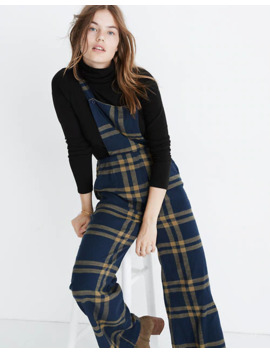 Ace&Jig™ Auggie Plaid Overalls by Madewell