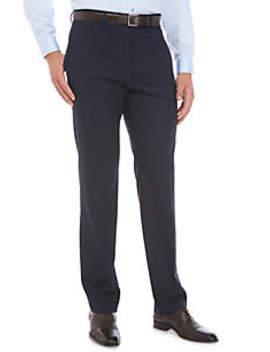 Ultraflex Stretch Flat Front Pants by Lauren Ralph Lauren