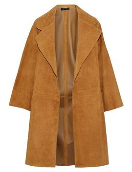 Suede Coat by Theory