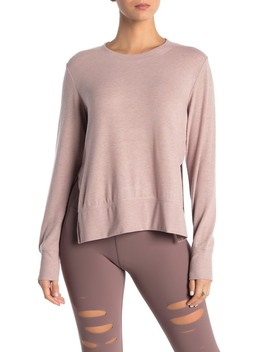 'glimpse' Long Sleeve Top by Alo