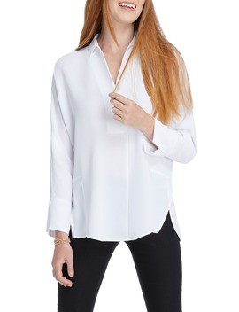 Flowing Ease Blouse by Nic+Zoe