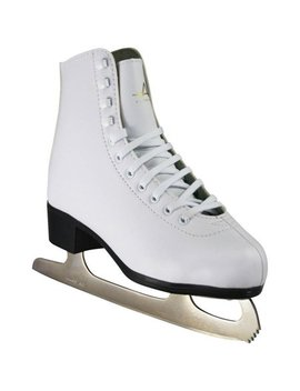 American Athletic Women's Tricot Lined Ice Skates, Size 5 by American Athletic