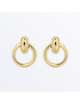 Door Knocker Earrings     Isa              Regular Price      €‌81 by Ana Luisa