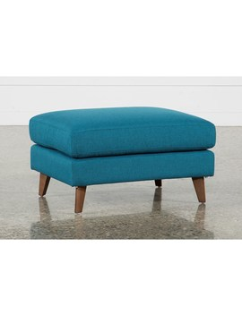 Allie Jade Ottoman by Living Spaces