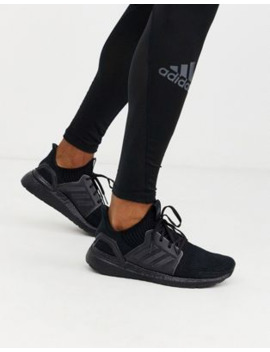 Adidas Running Ultraboost 19 In Triple Black by Adidas