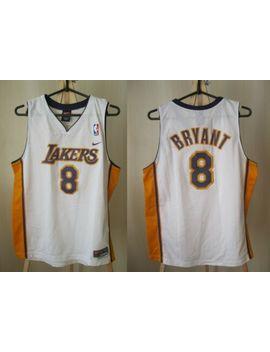 Boys Los Angeles Lakers #8 Kobe Bryant Size L Nike Basketball Jersey Shirt by Nike