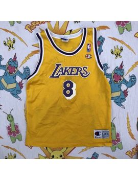 Vintage Champion Kobe Bryant #8 Los Angeles Lakers Nba Jersey Youth L (14 16) by Champion