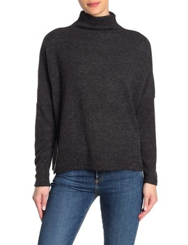 Funnel Neck Soft Knit Pullover by Melloday